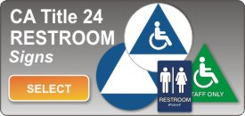 title 24 restrom bathroom signs