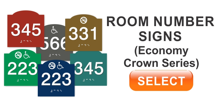 room numbers crown series
