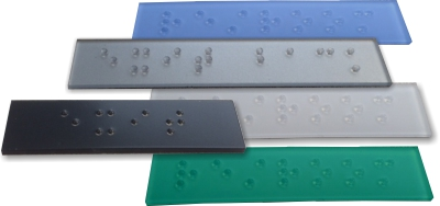 braille patches and labels