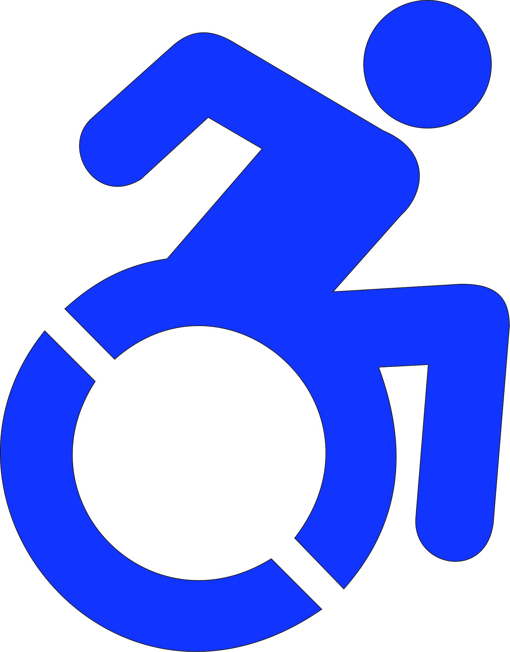 ada handicap accessible signs wheelchair access signs rh justbraillesigns com Handicap Wheelchair Logo Fair Housing Logo